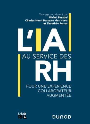 Leihia apporte sa contribution à l'ouvrage »L'IA au service des RH»
